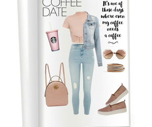 Polyvore and coffee date image