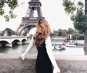 blond, fashion, and france image