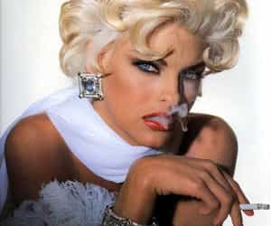 model, fashion, and linda evangelista image