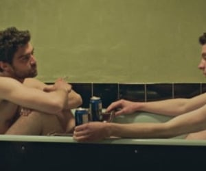 gods own country, johnny saxby, and josh o'connor image