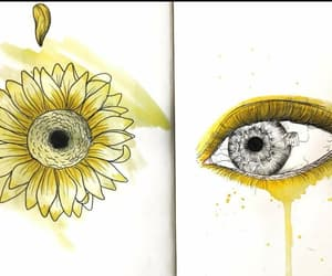 art, cry, and daisy image
