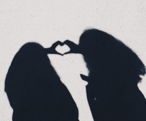 best friends, goals, and heart image