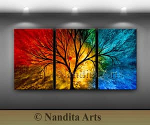 Abstract Painting, landscape paintings, and abstract art decor image