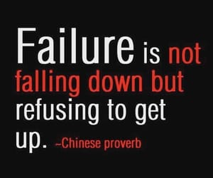 quotes, failure, and life image