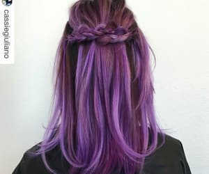 braids, colour, and fashion image
