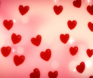 aesthetic, header, and hearts image