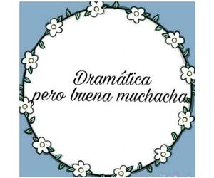 drama, feliz, and muchacha image