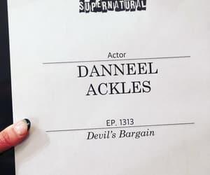 spn, supernatural, and danneel ackles image