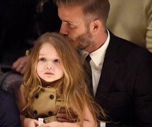 David Beckham, family, and harper beckham image