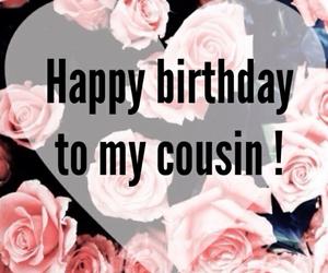 cousin, happy birthday, and feliz cumpleanos image
