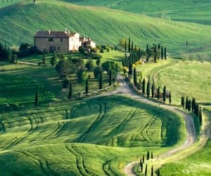 travel, italy, and house image
