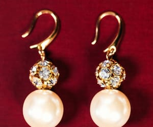 classy, diamonds, and earrings image