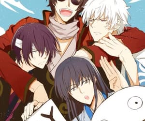 gintama, takasugi shinsuke, and anime boy image