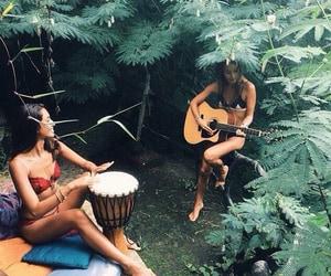 boho, drum, and guitar image