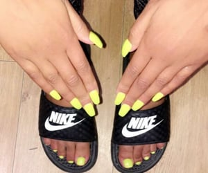 nike, pedicure, and snap image