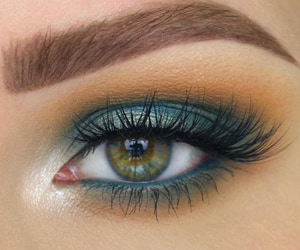 blue, pretty, and eyeshadows image