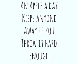 apple, quote, and text image