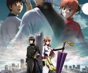 anime girl, sakata gintoki, and gintama image