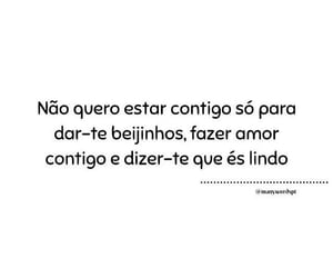 frases de amor, frases, and quero te image