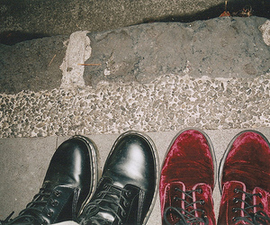 shoes, indie, and boots image