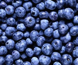 blue, blueberries, and FRUiTS image