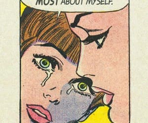aesthetic, comics, and lonely image