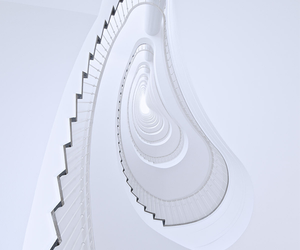 spiral, stairs, and staircase image