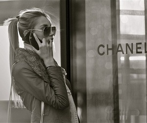 class, ponytail, and chanel image