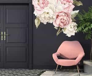 black, decor, and home image