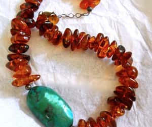 etsy, vintage necklace, and baltic amber image