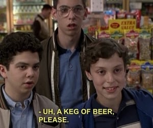 freaks and geeks, beer, and funny image
