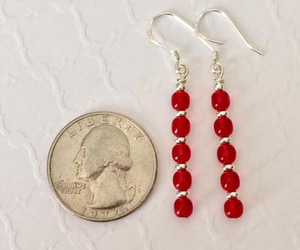 etsy, valentines day, and drop earrings image