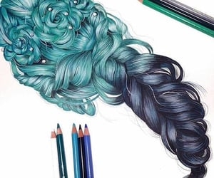 colorful, art, and drawing image