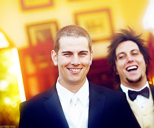 avenged sevenfold, synyster gates, and m shadows image