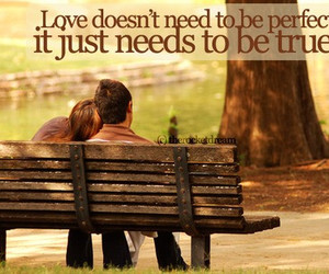 love, true, and quote image