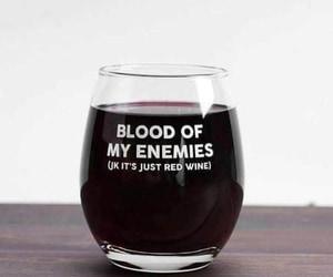 blood, wine, and vino image
