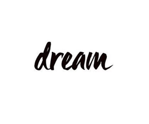 Dream, article, and qoute image