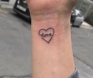 grunge, heart, and love image