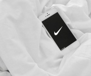 nike, iphone, and white image