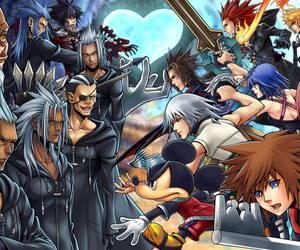 aqua, axel, and sora image