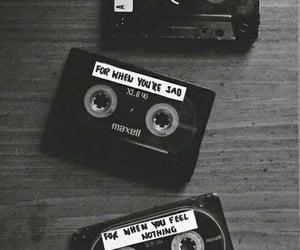 music, sad, and happy image