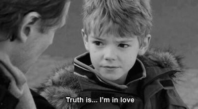 love, love actually, and truth image