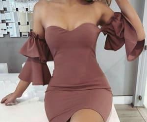 beautiful, dresses, and woman image