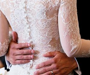 bride, dress, and Jamie Dornan image