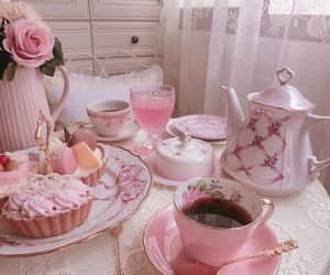 tea, pink, and pastel image