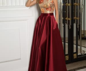 classy, modest, and skirt image