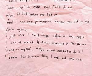 handwritten, Lyrics, and quote image