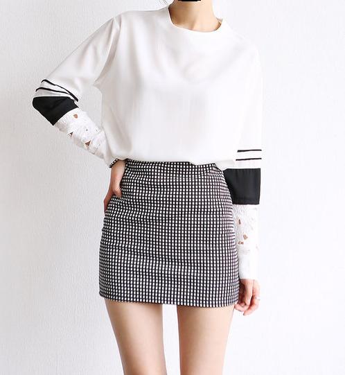 kfashion, skirt, and white image