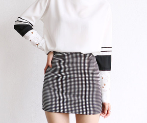 kfashion, skirt, and white image