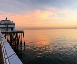 california, sunset, and sunsets image